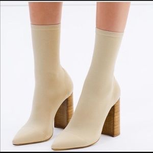 Tony Bianco diddy sock boot